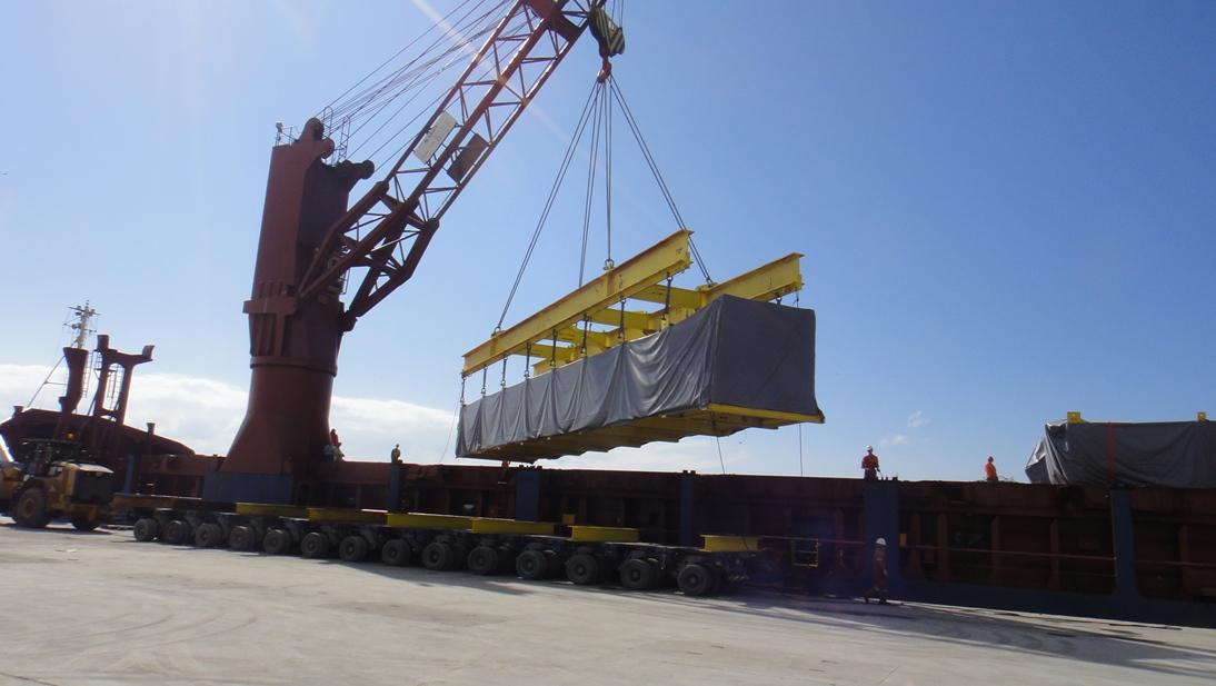 Port Captain services; loading, discharging etc.
